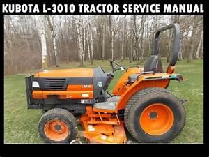Kubota L3010 Tractor Service Manual Download