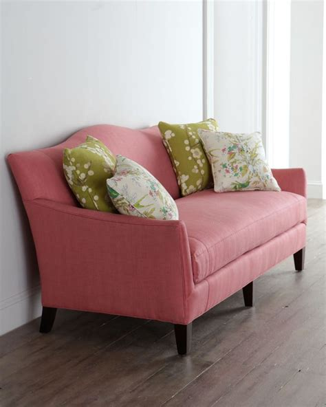 Raspberry Living Room Accessories by Horchow Industries Quot Priddy Quot Raspberry Sofa On