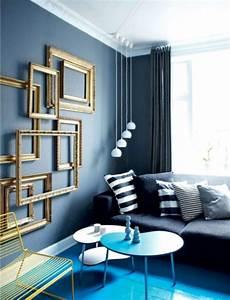 Salon Gris Bleu : chambre bleu gris ~ Melissatoandfro.com Idées de Décoration