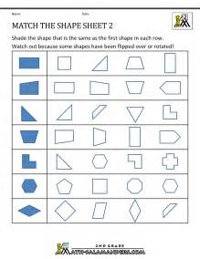 3rd grade math sheets transformation geometry worksheets 2nd grade