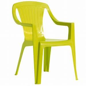 Chaise De Jardin Gifi : chaise de jardin enfant vert anis mobilier de jardin ~ Dailycaller-alerts.com Idées de Décoration