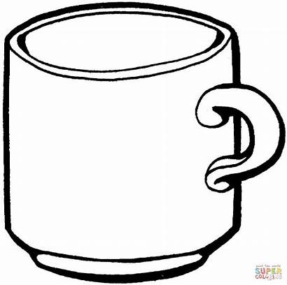 Coloring Pages Cups