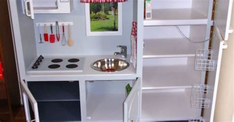 convert tv cabinet to play kitchen convert tv cabinets into state of the play 9457
