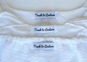 trash to couture design your own clothing labels with With create your own clothing tags