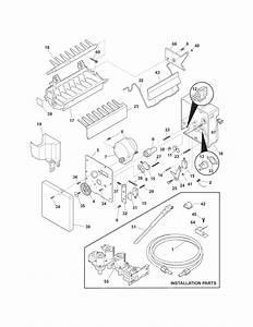 Kenmore Elite Refrigerator Ice  U0026 Water Dispenser Parts