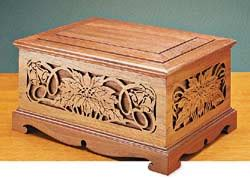 scroll  box woodworking plans  information