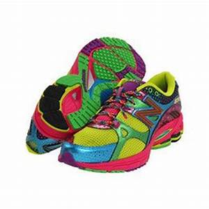 colorful tennis shoes