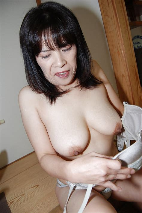 Nasty Mature Asian Yumiko Masturbating That Hairy Asian