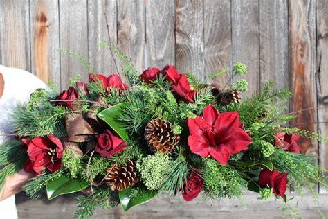 christmas flower arrangements delivered  boulder colorado