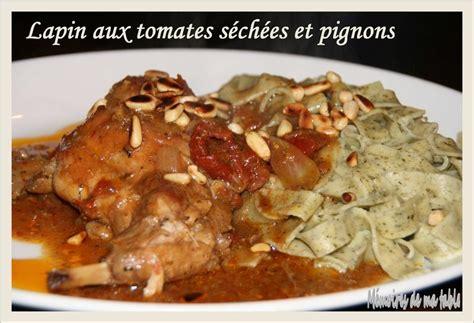 Petits Canapés Aux Confits De Tomates Séchées Ou Facile Et Delicieux Lapin Aux Tomates Séchées Et Pignons