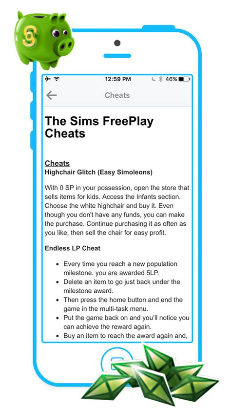 sims freeplay cheats iphone app shopper free cheats for the sims freeplay gameplay