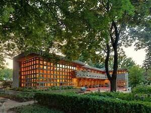 Frank Lloyd Wright Gebäude : frank lloyd wright turkel house usonian style only built 2 story in usonian style frank lloyd ~ Buech-reservation.com Haus und Dekorationen