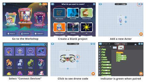 programming parrot drones  tynker tynker blog