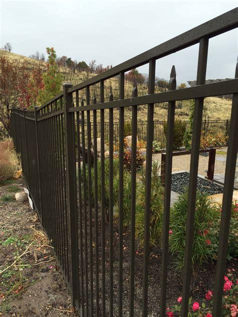 ornamental iron fencing west jordan utah outback fencing