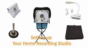 Voice Over Mobile Recording Booth Set Up And Use