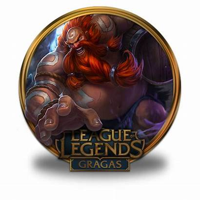 Gragas Icon Legends League Gold Icons Border