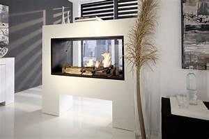 Ethanol Kamin Raumteiler : comment s parer la cuisine de la salle de s jour ~ Watch28wear.com Haus und Dekorationen