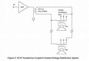 Wiring Diagram 70 Volt Speakers  U2013 Backup Gambar