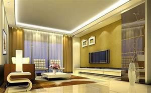 Interior designer TV wall in living room Interior Design