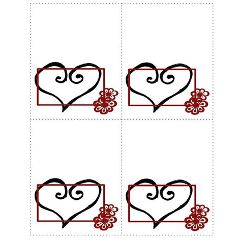 table card template free templates for wedding seating place cards in many styles