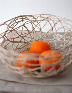 Fabriquer Un String : diy fabriquez une corbeille avec de la ficelle ~ Zukunftsfamilie.com Idées de Décoration
