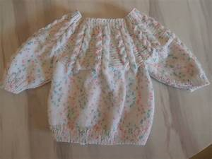 tuto tricot layette brassiere en taille naissance With tuto robe crochet facile