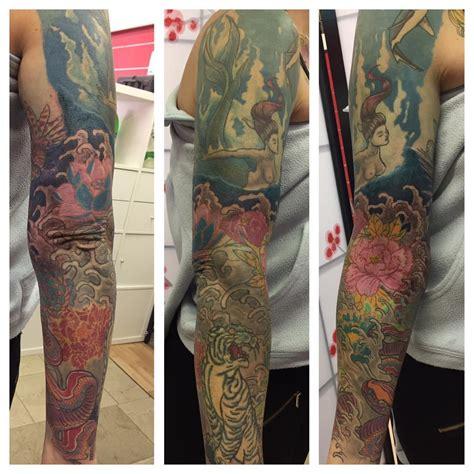 artistically express   full sleeve