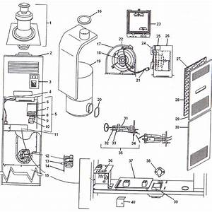 Coleman Central Electric Furnace Wiring Diagram 3500 A23
