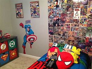 comic wallpaper for bedroom home safe With kitchen cabinets lowes with marvel superhero wall art