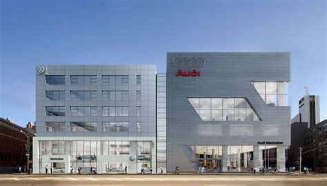 Audi Dealers by New Vw Audi Dealer Complex In Nyc Photo Gallery Autoblog