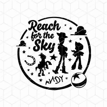 Cricut Svg Toy Story Pixar Disney Sky
