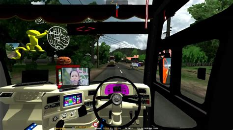 ets mod bus indonesia  tes steer youtube