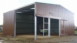Hangar Metallique En Kit D Occasion : batiment industriel en kit batiments moins chers ~ Nature-et-papiers.com Idées de Décoration