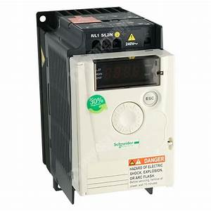 Schneider Atv12 Ip20 0 75kw 230v 1ph To 3ph Ac Inverter