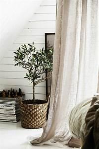 Decoration Pour Rideau : le rideau en lin une belle d coration pour l 39 int rieur la mandoline rideaux ~ Melissatoandfro.com Idées de Décoration