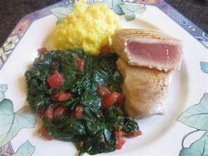 Rezepte Mit Babyspinat : filet vom wei en thunfisch mit babyspinat und ~ Lizthompson.info Haus und Dekorationen