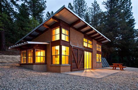 Modern Shed Roof Cabin Plans