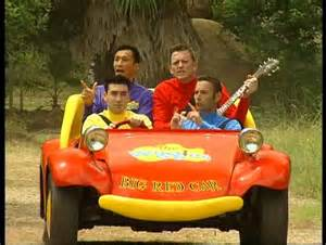 Wiggles Big Red Car Wiggly Safari