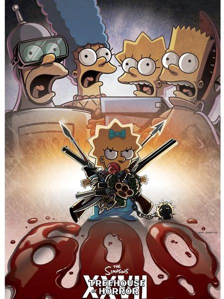 Episode Reminder Treehouse Of Horror Xxvii (the 600th
