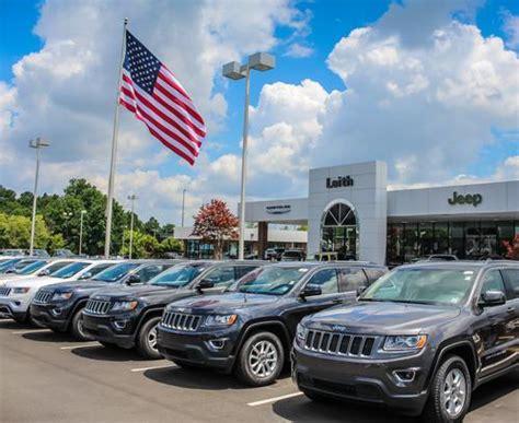 leith chrysler jeep raleigh nc car dealership