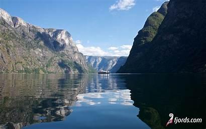 Fjords Background Sogn Naeroeyfjord Pc