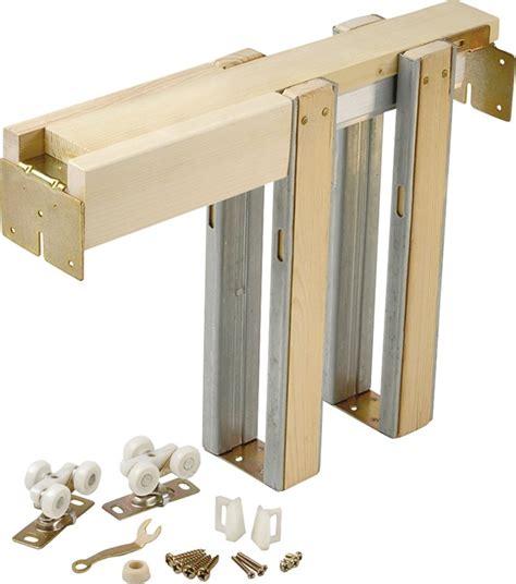 johnson pocket door johnson 1500 universal pocket door frame for use with 125
