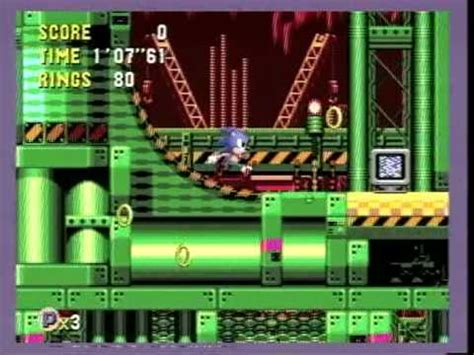 sonic cd secret room  wacky workbench zone  youtube