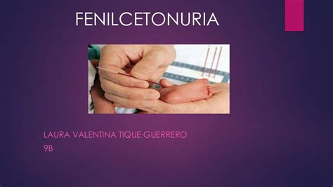 calameo fenilcetonuria