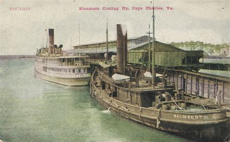 Steamers Coaling Up, Cape Charles, Va. | The Countryside ...