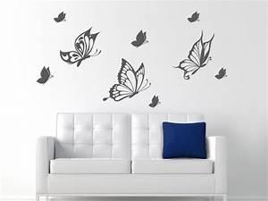 Wandtattoo Kinderzimmer Schmetterlinge : wandtattoo bezaubernde schmetterlinge ~ Sanjose-hotels-ca.com Haus und Dekorationen