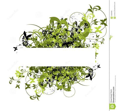 cadre de fleur pour le texte illustration de vecteur image 15683608