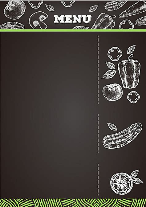 creative menu background material  imagens cartazes
