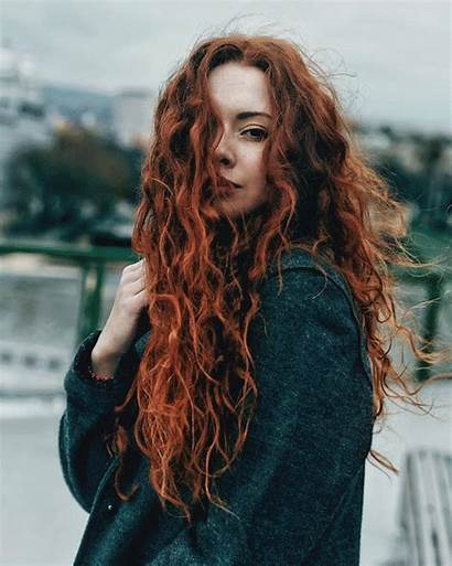 Redhead Redheads Ginger Most Curly Auburn Natural