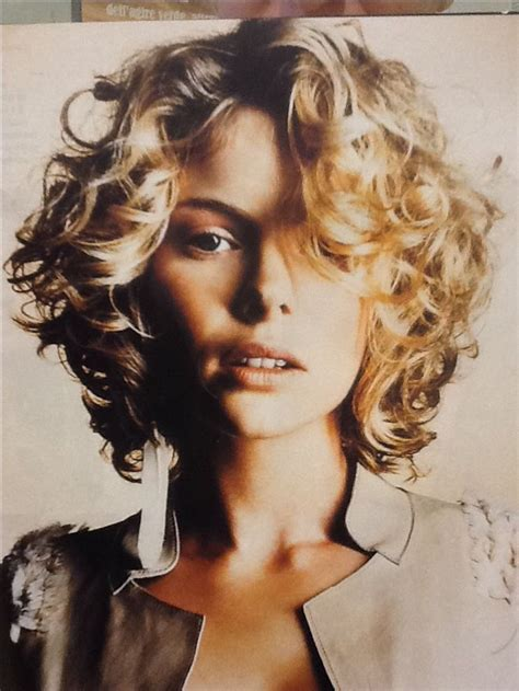 image result for short curly wavy hairstyles without bangs